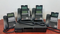 SV9100 with 4 handsets