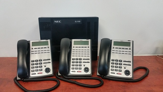 sl1100 with 3 handsets