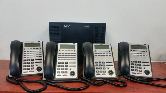 sl1100 with 4 handsets